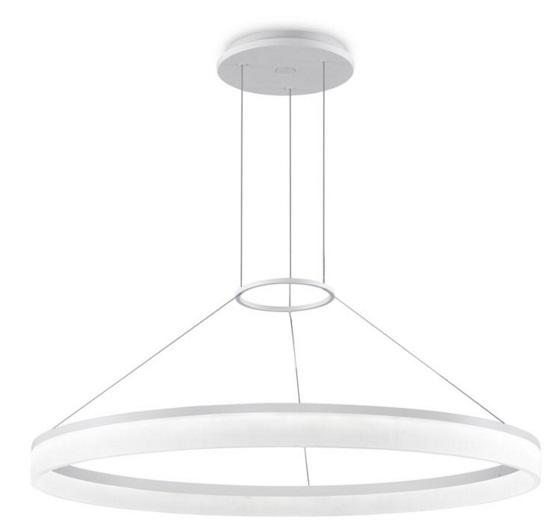 Circ Lámpara Colgante Circular 100cm LED 36W - Blanco mate