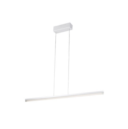 Circ Lámpara Colgante Lineal 150cm LED 27W regulable - blanco mate