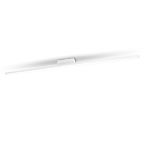 Circ Plafón 150cm LED 26W regulable - Blanco mate