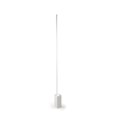 Circ Floor Lamp 175cm LED 27W - White mate