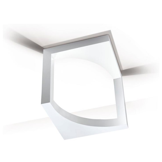 Escher ceiling lamp 1xR7s 230W - white lacado