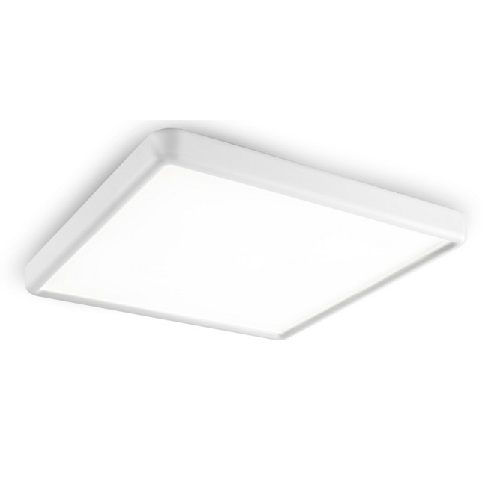 Net Plafón 61cm LED 40W - blanco mate