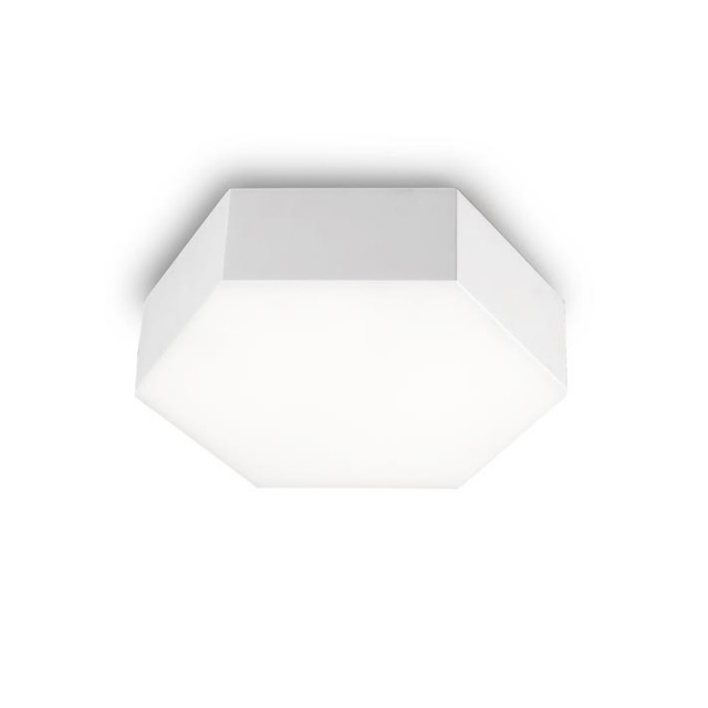 Six Plafón 28x8cm LED 15w 3000K - blanco mate