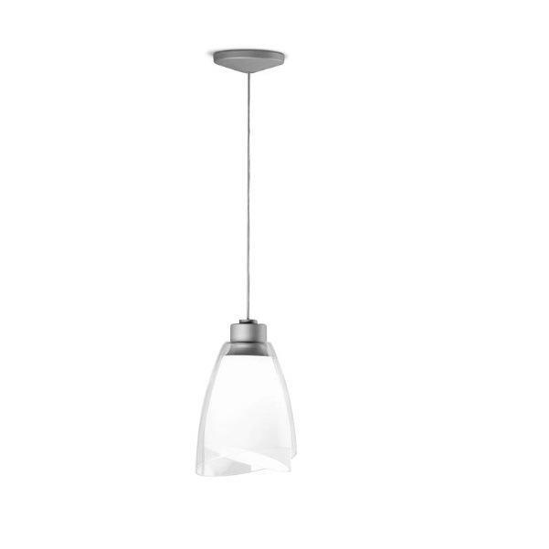 Twins Lamp Pendant Lamp 1xE27 MAX100W - Grey