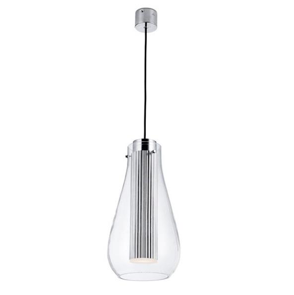 Rigatto Lámpara Colgante con Difusor Vidrio LED CREE 7,2W 3000K - blanco mate