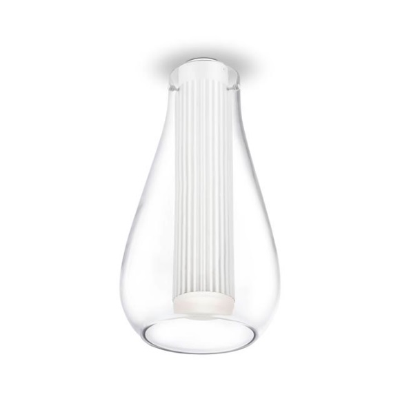 Rigatto ceiling lamp Large with Diffuser Glass LED CREE 7,2W - white mate
