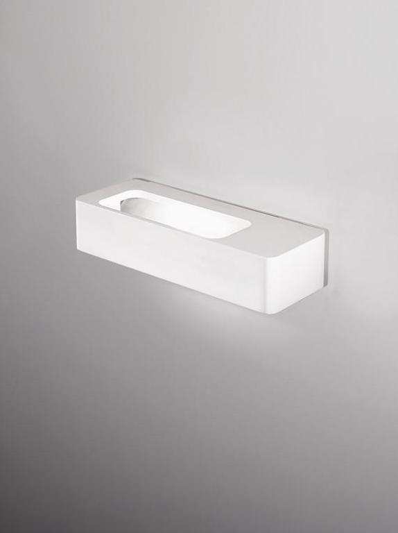 Lingotto Wall Lamp 19cm R7s 150w Lacquered white