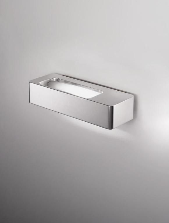 Lingotto Wall Lamp 19cm R7s 150w Aluminium pulido