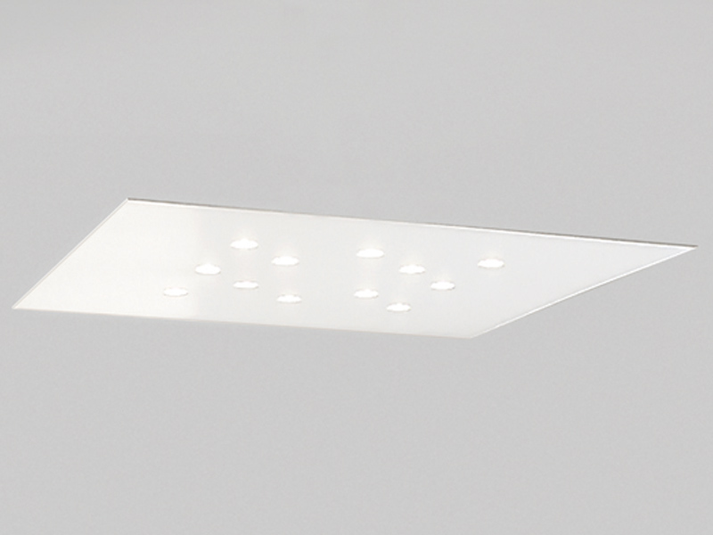 Swing ceiling lamp 65x65 48w 12xLED white