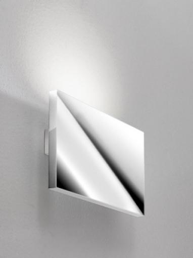 Tratto Wall Lamp 24cm LED 16,8w beam único Aluminium Brillo