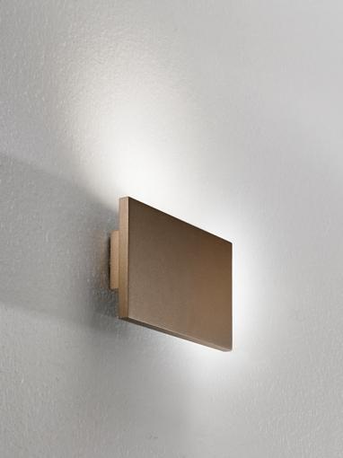 Tratto Wall Lamp 24cm LED 16,8w beam único Moka