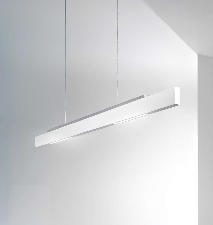 Tratto Pendant Lamp LED 36w beam Doble Grey