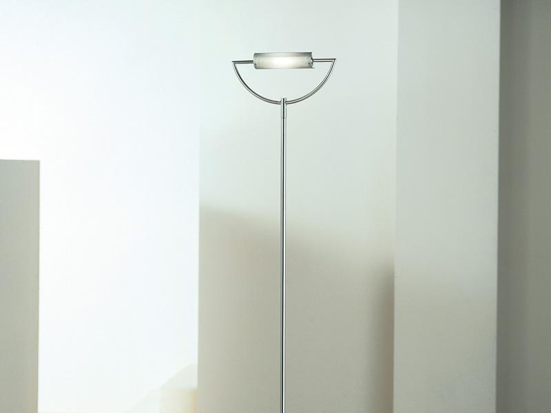 Arco Stelo lámpara of Floor Lamp Aluminium