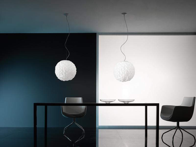 Emisfero Pendant Lamp ø16 Glass Soplado 1x60w G9