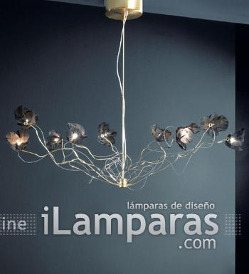 Bouquet Pendant Lamp 14L Chrome/Nickel