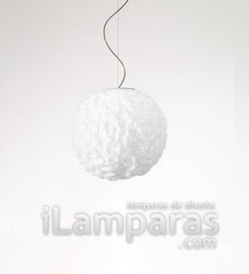 Emisfero Lámpara Colgante ø25 Vidrio Soplado 1x100w E27
