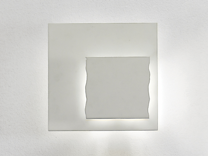 Piastra Wall Lamp 70x70 LED 4x7w white