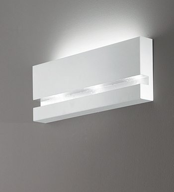 Riflessi Wall Lamp 70 white F.ARG.DIMER + LED