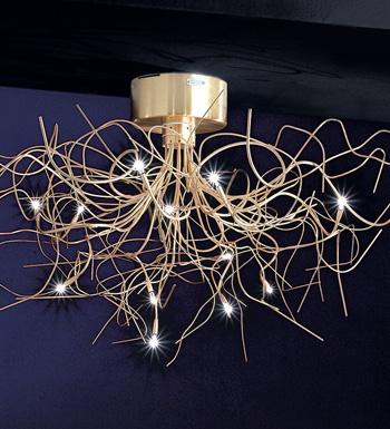 Saginna Pendant Lamp 12 lights 20w G4 BIANCA