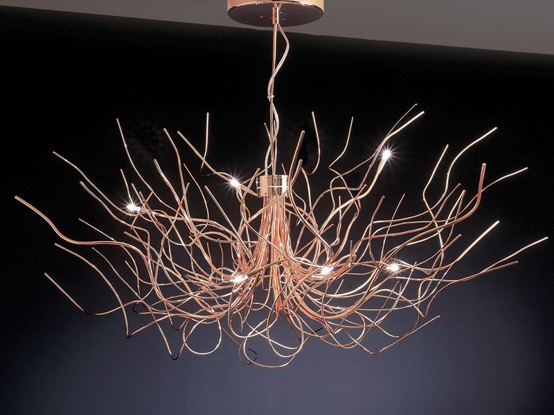 Saginna Pendant Lamp 6 lights 20w white