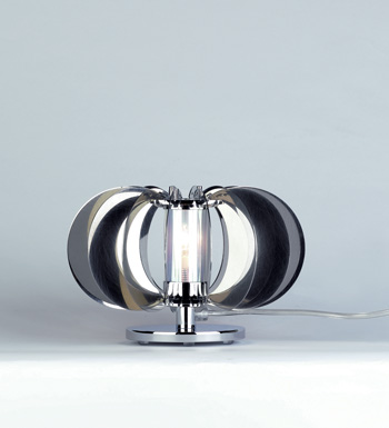 Zucca Table Lamp steel V.Satin