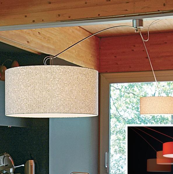 Gru Pendant Lamp 2L white lampshade white