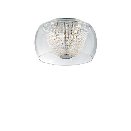 Audi 60 ceiling lamp PL8 D40 8xG4 20w Chrome