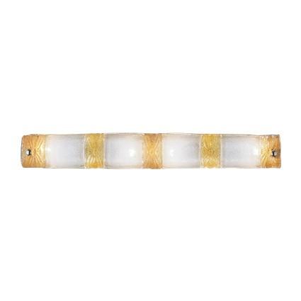 Piastra Wall Lamp AP4 4xE14 40w ámbar and Transparent