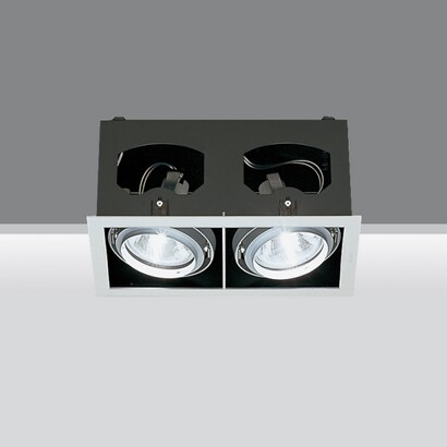 Recessed frame two bodies opticos 2x70w hit g12