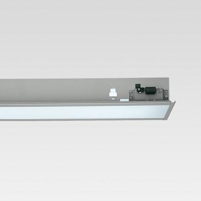 Sistema hub Module Fluorescent fixed óptica simetrica t16 54w emergency (l:1200)