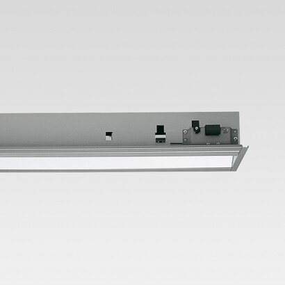 Sistema hub Module Fluorescent fixed óptica asimÉtrica t16 80w (l:1500)