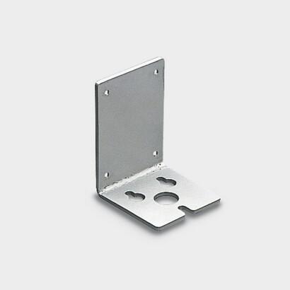 Placa fundicion pour sujeción suelo o mur projecteur Lingotto