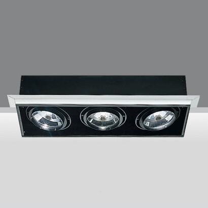 luminary minimal 3 bodies opticos 3xpar 30 75w 230v E27