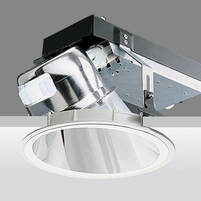 Downlight óptica wall washer electronic equipment 2xtc del 26w g24q 3