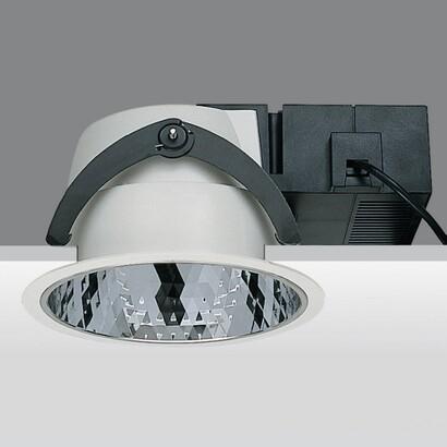 Lum Recessed sistema 44 Reflector faceteado equipo standard e invertidor tc del 26w g24q 3
