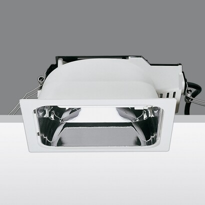 Sistema easy fl dim 1 10v Reflector metallized 2xtc tel 32w