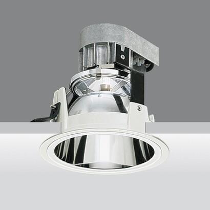 Recessed reflex óptica fixed qr 111 75w 12v g53