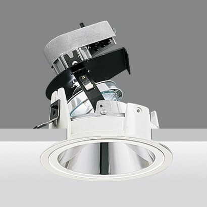 Downlight reflex óptica adjustable cono of light 18º qt 12 100w 24v gy6.35
