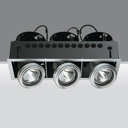 Luminaria trimmer 3 Cuerpos opticos 3xpar 30 75w E27
