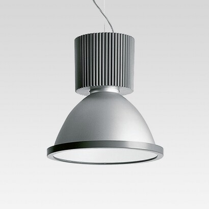 Central 41 42 Pendant Lamp with emisión of light direct with Diffuser en Aluminium