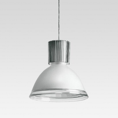 Central 41 42 Pendelleuchte mit emisión von licht difusa mit Diffuser en polycarbonat