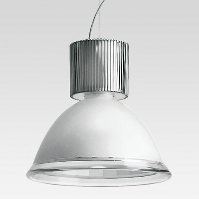 Central 41 42 Pendant Lamp with emisión of light difusa with Diffuser en polycarbonate