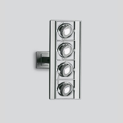 Cestello wall Small to 4 bodies with transformadores electrónicos 4x50W 12 V QR-CBC 51