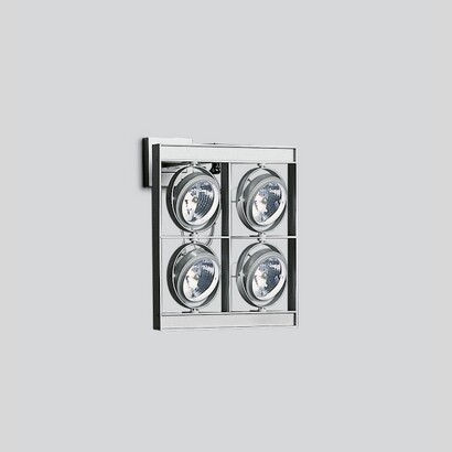 Cestello wall Large to 4 bodies with transformadores electrónicos 4x100W 12 V QR-111