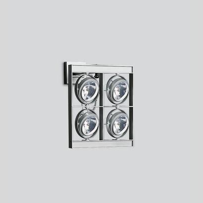 Cestello parede Grande a 4 corpos com transformadores electrónicos 4x100W 12 V QR-111