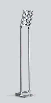 Cestello de suelo, avec 6 organismes ópticos, incluidos transformadores h = 4500mm 6x100w 12V QR-111