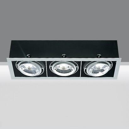Frame Cuerpos ópticos Grandes 3x75w 230V PAR30S