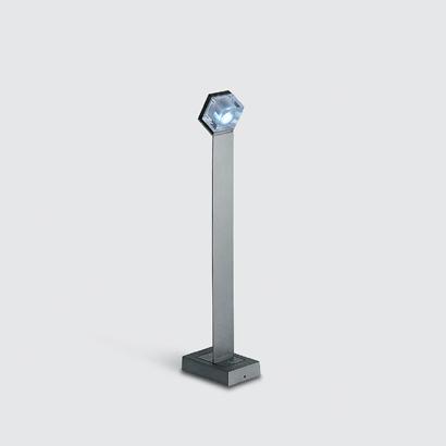 Glim Cube luminary with base 1w white 4200K 4Vdc E