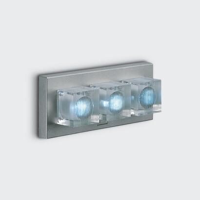Glim Cube Wall Lamp rectangular 3W white 4200K E
