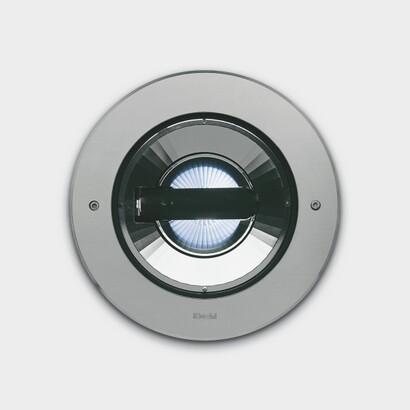 Light Up Light Recessed circular óptica simétrica spot adjustable 0° 15°.